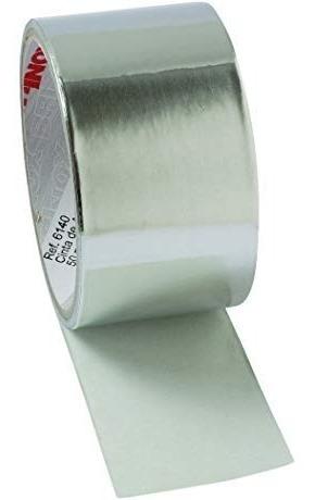rollo papel aluminio adhesivo 10 mts x 5 cm super resistente
