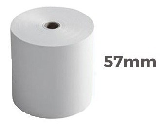 rollo papel para calculadoras 57mm x10u cifra casio citizen