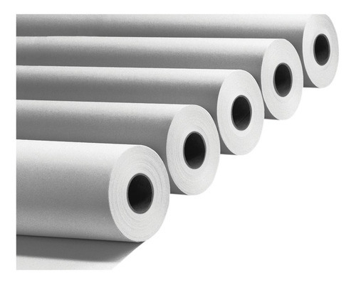 rollo papel plotter bond blanco opaco 90grs 107cm a0+ x 5 u