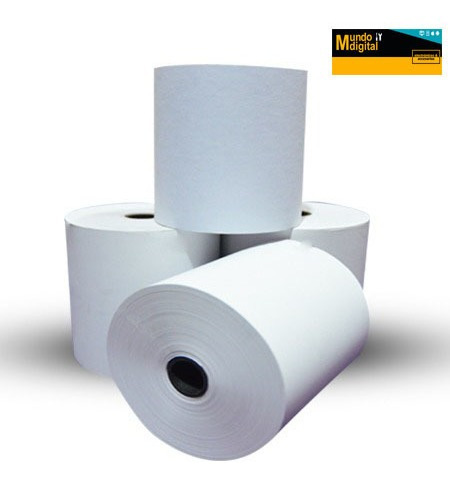 rollo papel termico 100 unidades 57mm x 61mm