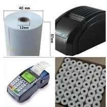 rollo papel termico 57x40mm para cajas registradoras y punto