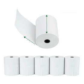 Rollo Papel Termico 58 Mm. Impresora Pos X 8 Unidades