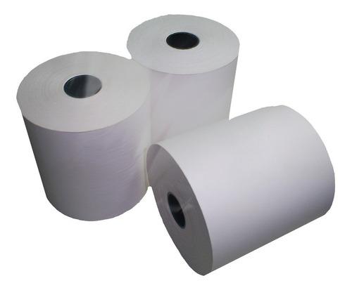 rollo papel termico husares 1180 80x45 80mm x45 mts 8 rollos