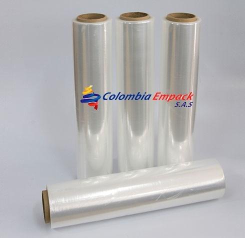 rollo papel vinipel plastico strecth x 400 metros fabrica