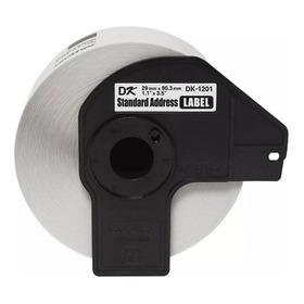 Rollo Para Etiquetas Dk1201 Precortada 29mm X 90mm