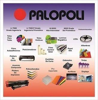 rollo pvc 100% cristal 1.40x25m espesor0.5mm palopoli