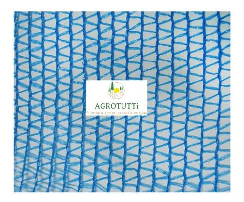 rollo tela malla polisombra 35% 4 mt ancho x 50 mts largo