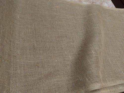 rollo tela yute diferentes usos 18 metros 50cm ancho