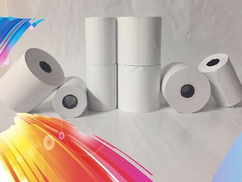rollo térmico 57x40 mm blanco paq/10 und