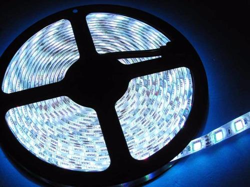 rollo tira led 5050 rgb multicolor +transformdr 12v +remoto