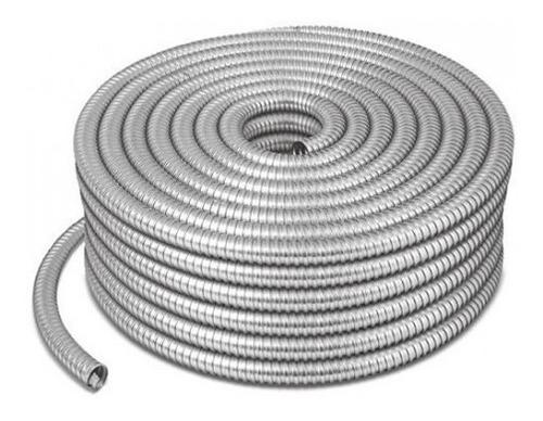 rollo tubo metálico flexible 3/4 pulg sldx 50m argos