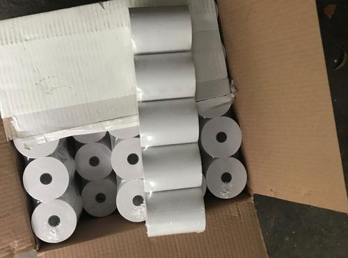 rollos 80 x 65 mm para maquina fiscal