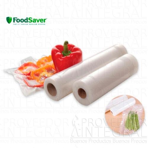 rollos de empaque al vacío 28 cm foodsaver oster caja x 2und