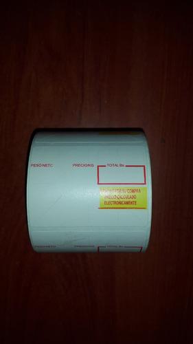 rollos de etiquetas termica 57x40 para balanza e impresora