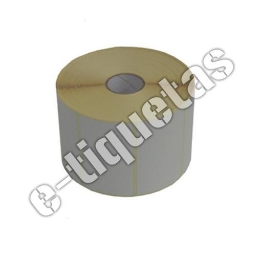 rollos de etiquetas termicos autoadhesivos de 55 x 44 mm