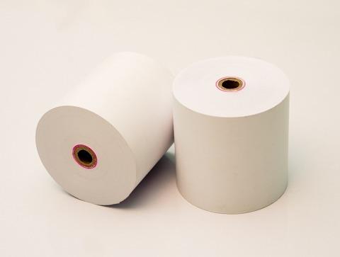 rollos de papel contometro termico 57x45mm impresora tickets