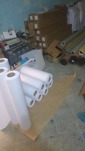 rollos de papel para plotter de 36 x45 mts