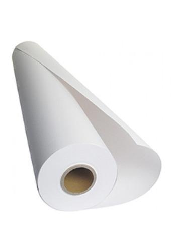 rollos de papel x2 para plotter t120 de 24x50mts 61cms 75gms