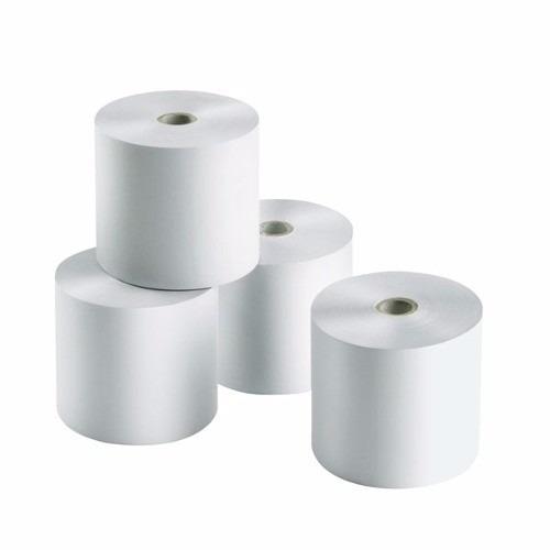 rollos papel bond 44mmx65mm para maquina registradora