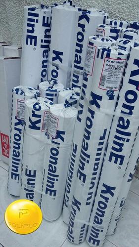 rollos papel bond kronaline pw456 paquete con 5 pz .61x50mts