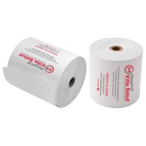 rollos papel contómetro autocopiativo 76x75mm orig+2 copias
