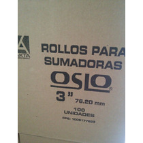 Rollos De Papel Bond De 76mm Caja De 100 Unds.
