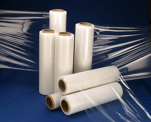 rollos plástico strech film y cinta de embalaje