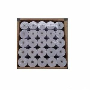 rollos termicos 80mm x 50mts  caja 50 u comandera / fiscales