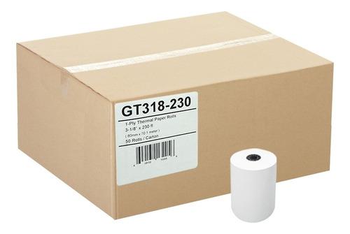 rollos termicos 80x60 mm impresora bixolon (24 rollos)