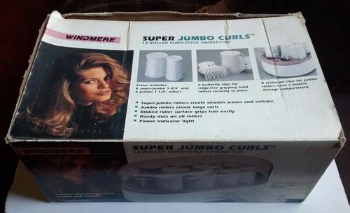 rollos/rizos térmicos para el cabello super jumbo 12 rollos