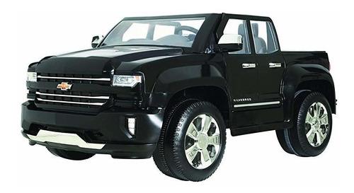 rollplay w461-p 12v chevy silverado truck ride on toy bate ®