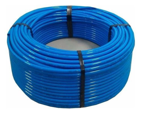 rolo 100 mt mangueira / tubo pneumática pu 10 x 7 mm 10 bar