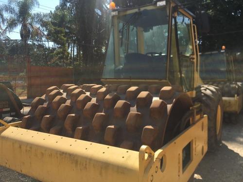 rolo compactador bomag bw211, cabinado, ano 2011!