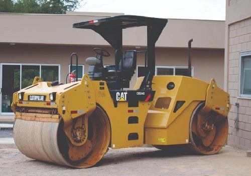 rolo compactador caterpillar cb534 entrada+8x15mil