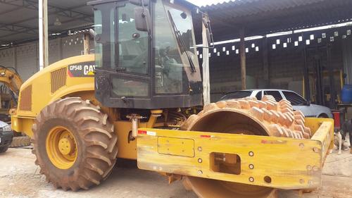 rolo compactador caterpillar cs-54b - 2014