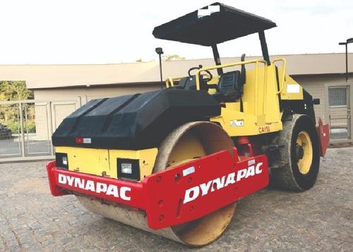 rolo compactador dynapac ca150 2007 35mil + parcelas