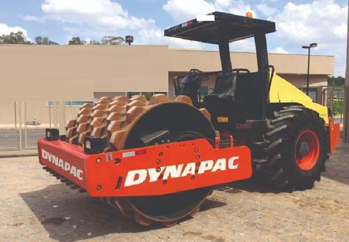 rolo compactador dynapac ca250 60.000 + parcelas