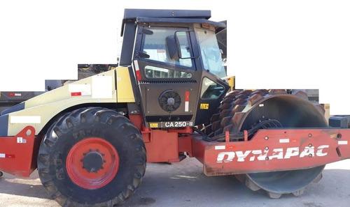 rolo compactador dynapac ca250 ano: 2013