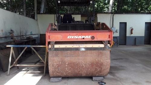 rolo compactador dynapac cc 424 hf ano 2010