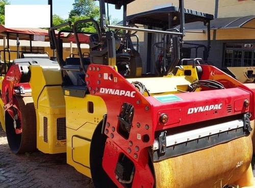 rolo compactador dynapac cc324hf ano: 2010