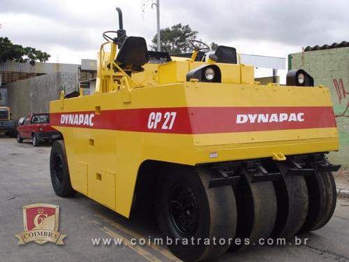 rolo compactador dynapac cp27 ano 1982