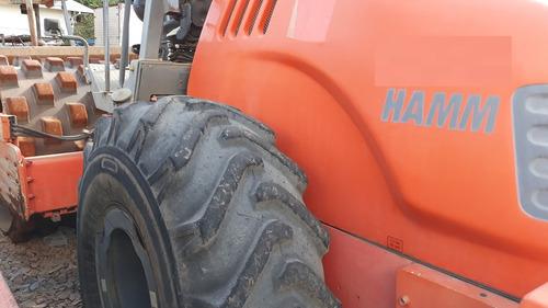 rolo compactador hamm 3411 seminovo