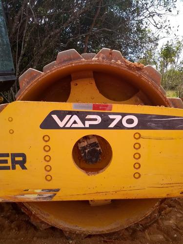 rolo compactador muller vap70 - 2016