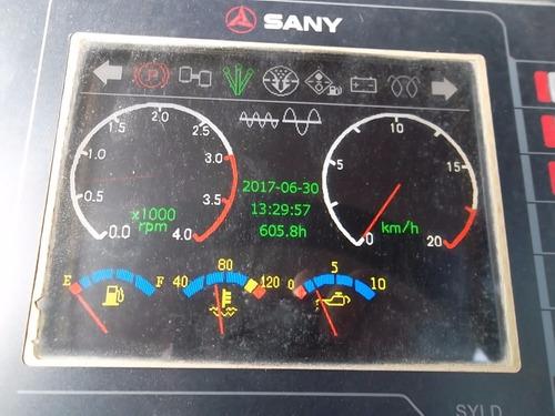 rolo compactador sany 2014 ssrd120 articulado 605 hrs apenas