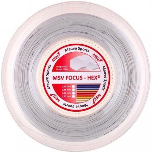 rolo corda msv focus hex 1,27mm branca (em estoque) - 200m