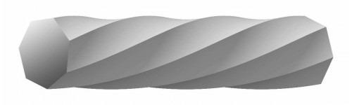 rolo corda msv hepta twist branca 1,20mm e 1,25mm em estoque