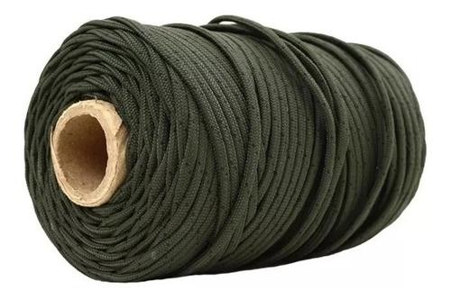 rolo cordão velame 100 metros verde oliva