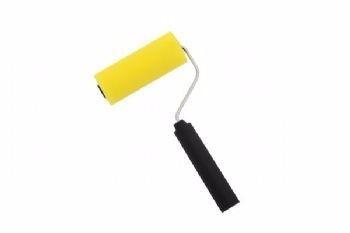 rolo de espuma para pintura látex e acrílica 9 cm 8 pç