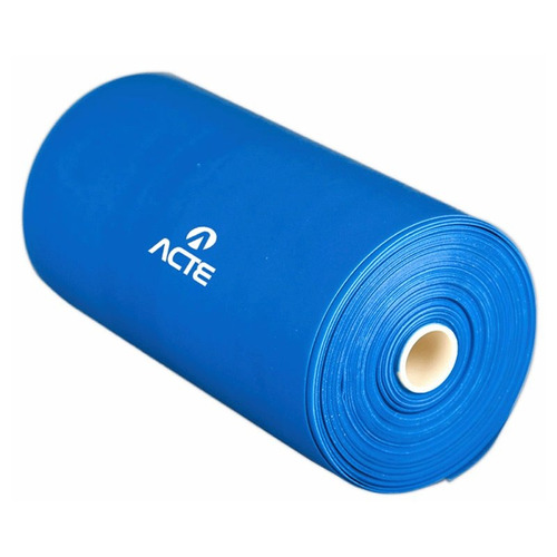 rolo de látex band forte acte t70 de 25 metros azul
