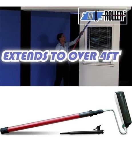 rolo de pintura reservatorio expansivel go roller 3 posições